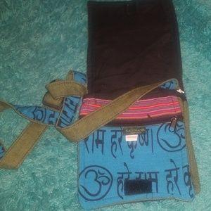 Crossbody hippie bag
